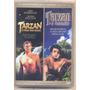 Tarzan: Dois Filmes Em Um Dvd - Original / Lacrado /