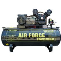Compressor De Ar 150 Litros 15 Pés 220v Motor 3 Hp V8