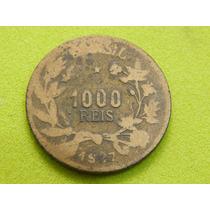 Moeda De 1000 Réis De 1927 - Brasil - (ref 1337)