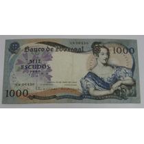 Portugal: Bela Cédula De 1.000 Escudos 1967 Mbc/s