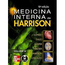 Livro Medicina Interna De Harrison - 2 Volumes
