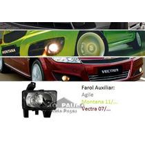 Farol Milha Auxiliar Vectra Agile Montana 2009 2010 2011 12
