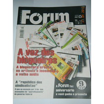 Revista Forum Ano 10 Setembro 2010 Nº 90 Blog Aborto Jean