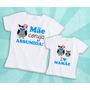 2 Camisetas Mamãe Coruja Assumida - Dia Das Mães