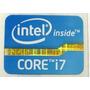 Adesivo Original Intel Core I7 2º Geração P/ Notebook