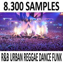 8.300+ Samples R&b Urban Reggae Ny Dance Funk Pack14