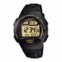 Relógio Casio W-734 9av Memória 5 Alarmes Cronom Nfe