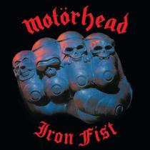 Lp Motorhead Iron Fist Importado Usa 180g