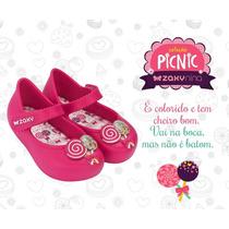 Zaxy Baby Nina Coleção Pic Nic Pink Pirulito By Dream Store