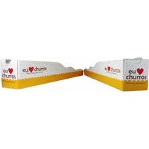 Caixinha, Embalagem Para Churros Gourmet - 1.000 Unidades