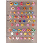 100 Botões Infantis Mix De Modelos