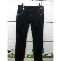 Calça Jeans Escuro Skinny Tam 42