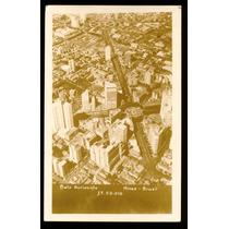 Cartão Postal Antigo Belo Horizonte Mg Vista Aérea
