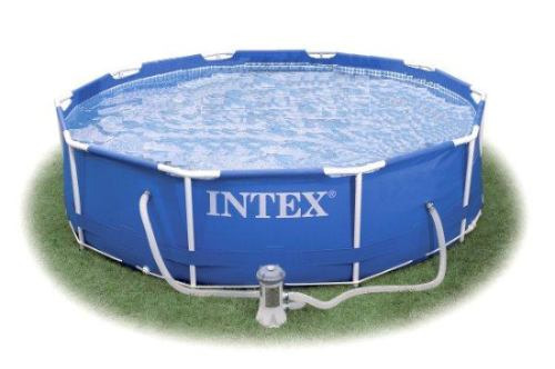 Piscina intex 4485 litros estrutural bomba filtrante for Filtros bombas accesorios piscinas intex