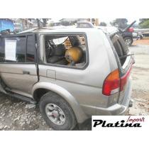 Sucata Mitsubishi Pajero Sport 2000 3.0 Peças Motor Câmbio