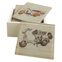 Conjunto Porta-copos Lambrettas
