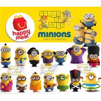 Minions 2015 Coleção Mc Donalds (cada) 1 Unidade