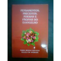 R/m - Livro - Pensamentos Preceitos Poesias Pg Do Evangelho