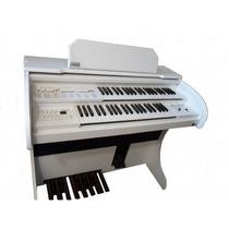 Órgão Eletrônico Rohnes Liz Plus Branco - Pronta Entrega