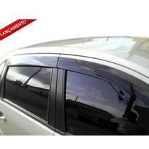 Calha Defletor Chuva Novo Fiesta / Sedan Design Esportivo
