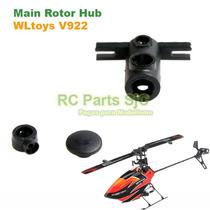 Rotor (main Rotor Hub) Para Helicóptero Wltoys V922 / Fbl100