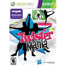 Jogo Ntsc Lacrado Xbox 360 Twister Mania Para Kinect
