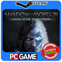Shadow Of Mordor Game Of The Year Edition Pc Steam Cd-key