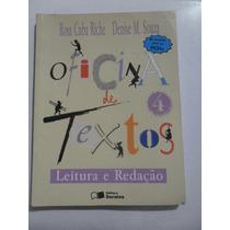 Oficina De Textos Leitura E Redeção Editora Saraiva Rosa