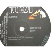 Alcione Pior É Que Eu Gosto Lp Vinil Disco Single Rca 1989