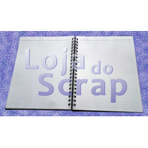 Refil / Miolo De Caderno Pautado - Papel Branco - Refilado