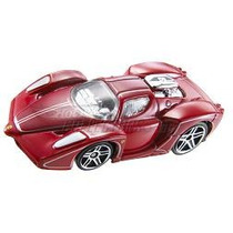 Hot Wheels Tooned Enzo Ferrari 66/2008 Lacrada No Blister !