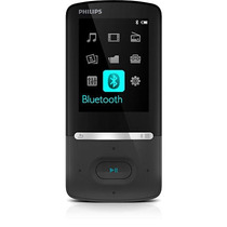 Mp4 Philips 4gb Com Bluetooth Tela 2.2