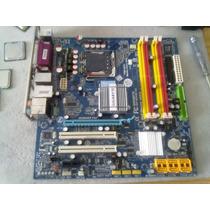 Placa-mãe Lga775 Gigabyte Ga-q35m-s2 Intel 4xddr2 Pcie Gamer