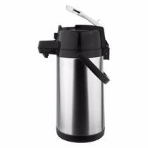 Garrafa Térmica Aço-inox Pressão C/ Alavanca 2,5l