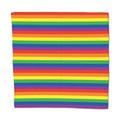 Lenço Bandana Arco Íris  100% Algodão 55cmx55cm