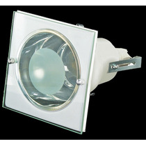 Luminária De Embutir Quadrada P/ 1 Lâmpada- 11,5cm - 189q