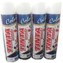 Kit 10 Latas Tinta Spray Branco Fosco Sec. Rapida 400ml!!