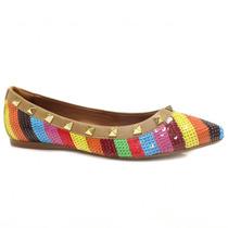 Sapatilha Zariff Shoes Paête Spike 370-347 | Zariff