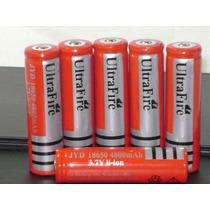 10 - Baterias Li-ion 18650 4800mah 3.7v - Recarregavel Novas