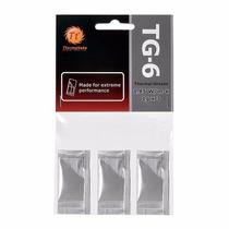 Pasta Termica Thermaltake Tg6 3 Pacotes 1gr Cl-o003-grosgm-a