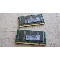 Memória Ddr 512 (2x256) Notebook Hp Ze4900 Nx9020 Nx9030