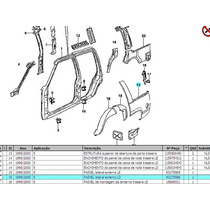 Lateral Direita Chevrolet Grand Blazer Usada Otimo Estado