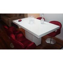 Mesa De Jantar Em Resina 1.20 X 0.80 Nova Direto Da Fabrica