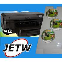 Impressora P/ Cd Dvd Officejet Pro 8100 Impressão Printable