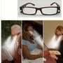 Armação Óculos Com Luz Led Integrada Para Leitura Noturna