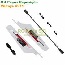 Kit Peças Reposição Helicóptero Controle Remoto Wltoys V911