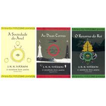 Livro Trilogia O Senhor Dos Anéis - Capas Ilustração Tolkien