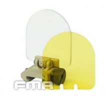 Protetor De Red Dot E Scope Fma Cor Tan 2 Lentes 20mm