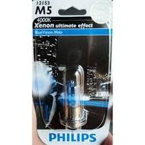 Lampada Farol Efeito Xenon 4000k Biz100/125/bros150/pop Phil