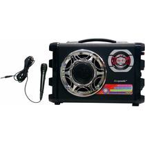 Speaker Ecopower Ep-2190 Sd Usb Fm Pequeno